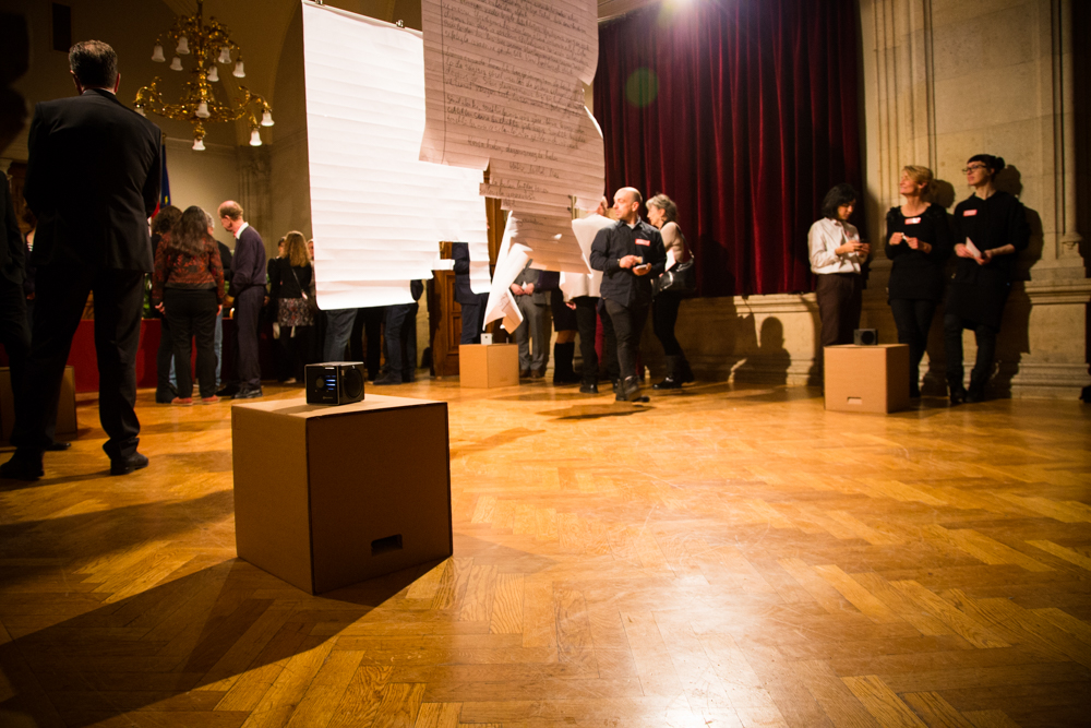 Impressionen Foyer Kunstinstallation